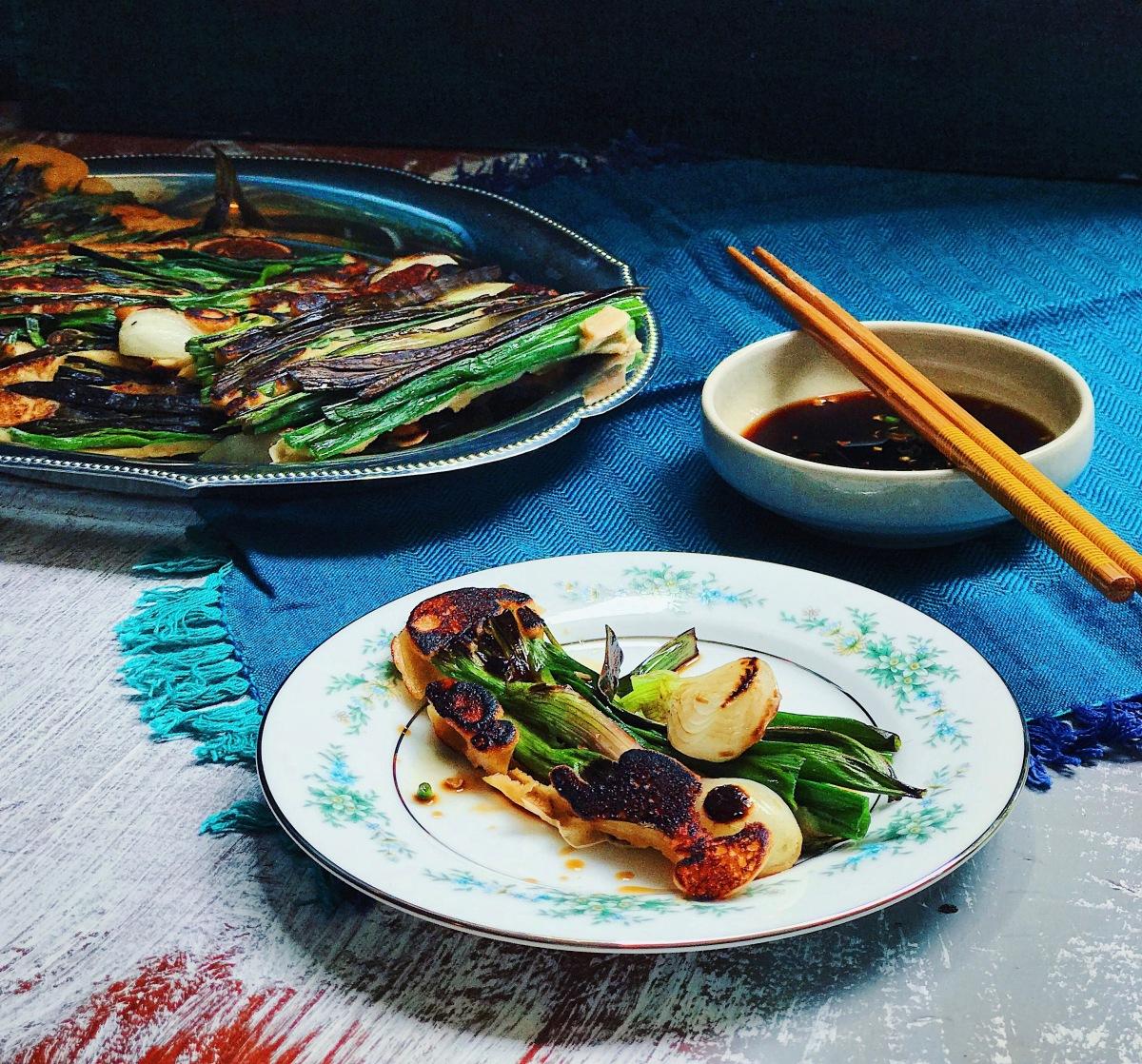 Korean Scallion Pancake, the cure for these Mumbai rains